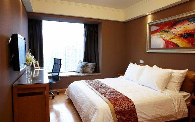 Отель Dan Executive Apartment Guangzhou Китай, Гуанчжоу - отзывы, цены и фото номеров - забронировать отель Dan Executive Apartment Guangzhou онлайн комната для гостей
