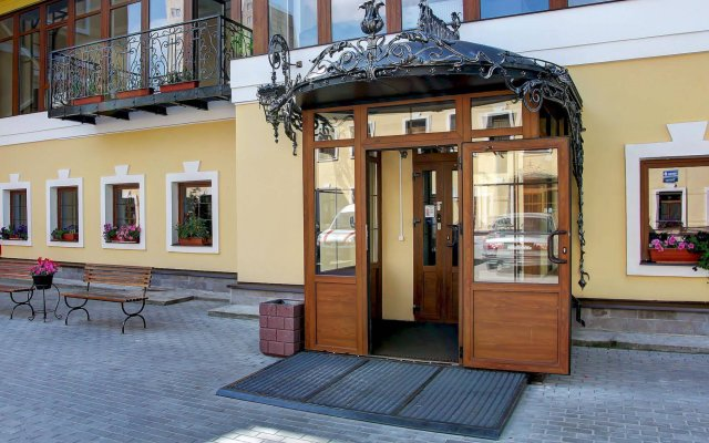 Гостиница 365 СПб, литеры Б, Е, Л Санкт-Петербург вид на фасад