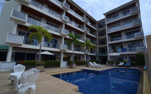 Отель Rawai Condominium by bayshore Пхукет вид на фасад