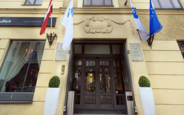 Hestia Hotel Jugend вид на фасад