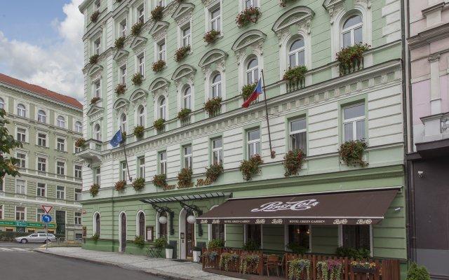 Отель Green Garden Hotel Чехия, Прага - - забронировать отель Green Garden Hotel, цены и фото номеров вид на фасад