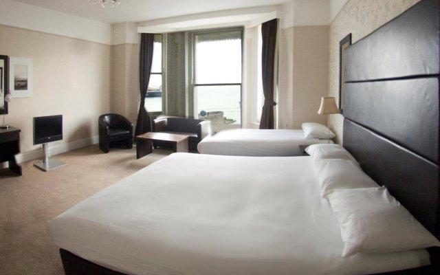 Отель Queens Hotel Великобритания, Брайтон - отзывы, цены и фото номеров - забронировать отель Queens Hotel онлайн комната для гостей