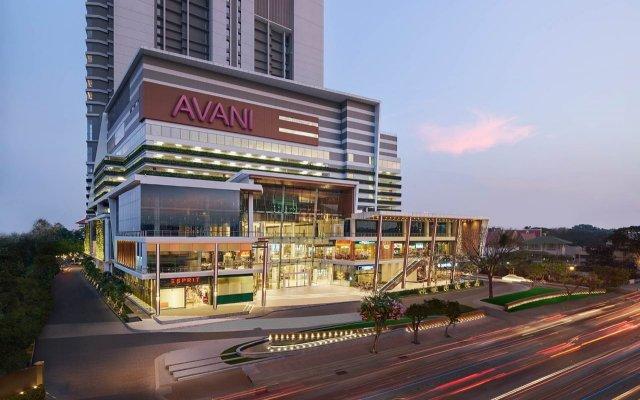AVANI Riverside Bangkok Hotel вид на фасад
