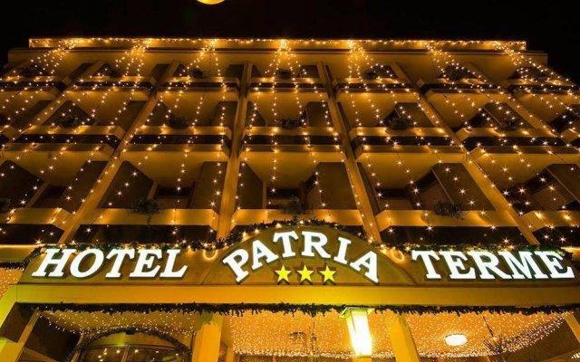 Hotel Terme Patria вид на фасад