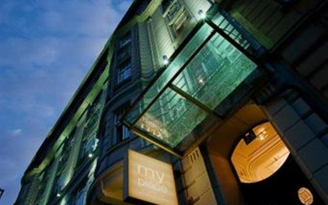 Отель MyPlace - Premium Apartments Riverside Австрия, Вена - отзывы, цены и фото номеров - забронировать отель MyPlace - Premium Apartments Riverside онлайн вид на фасад