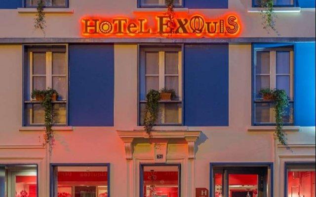 Отель Hi Matic Франция, Париж - отзывы, цены и фото номеров - забронировать отель Hi Matic онлайн вид на фасад