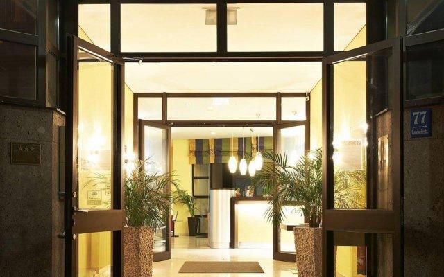 Отель Ghotel & Living Munchen-City Мюнхен вид на фасад