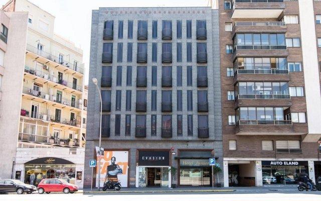 Отель Sunotel Junior Барселона вид на фасад