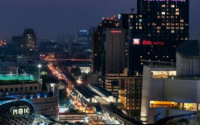 Отель Mercure Bangkok Siam вид на фасад