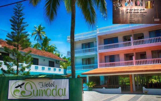 Отель Sumadai Шри-Ланка, Берувела - отзывы, цены и фото номеров - забронировать отель Sumadai онлайн вид на фасад