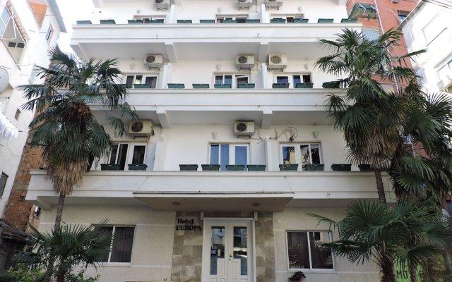 Hotel Europa вид на фасад