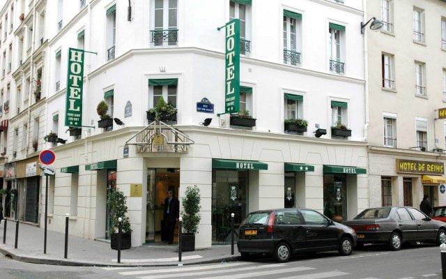 Отель Prince Albert Lyon Bercy Париж вид на фасад