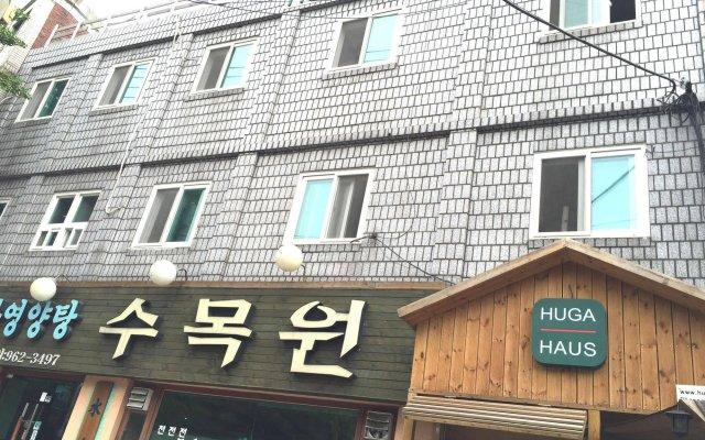Отель Huga Haus Guest House Южная Корея, Сеул - отзывы, цены и фото номеров - забронировать отель Huga Haus Guest House онлайн вид на фасад