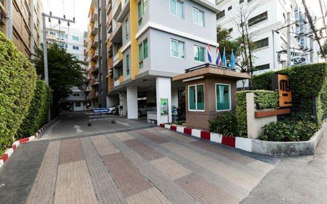 Отель My Condo Бангкок вид на фасад