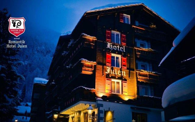 Отель Romantik Hotel Julen Superior Швейцария, Церматт - отзывы, цены и фото номеров - забронировать отель Romantik Hotel Julen Superior онлайн вид на фасад