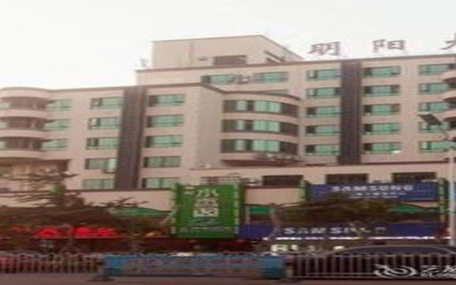 Mingyang Hotel вид на фасад