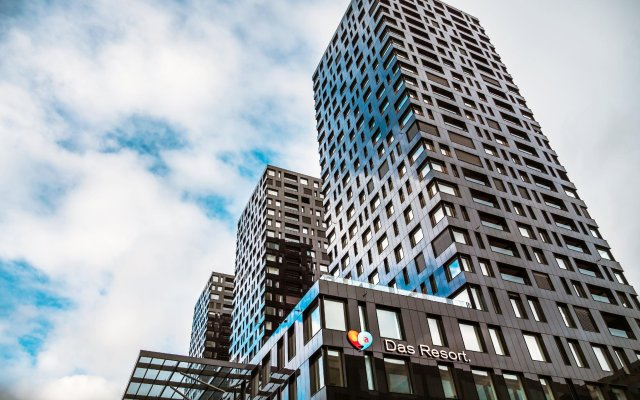 Отель A-Ja Zurich. Das City-Resort. Цюрих вид на фасад