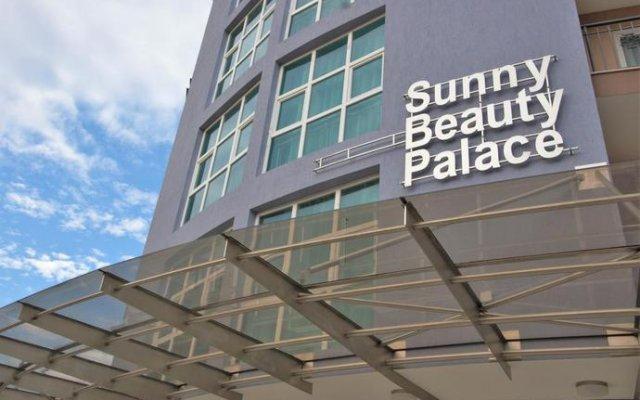 Отель Sunny Beauty Palace Hotel - All Inclusive Болгария, Солнечный берег - отзывы, цены и фото номеров - забронировать отель Sunny Beauty Palace Hotel - All Inclusive онлайн вид на фасад