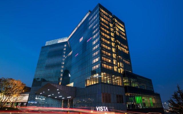 Отель W Seoul Walkerhill Южная Корея, Сеул - отзывы, цены и фото номеров - забронировать отель W Seoul Walkerhill онлайн вид на фасад