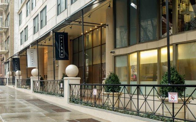 The Watson Hotel вид на фасад