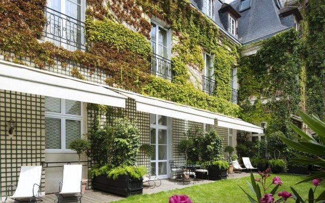 Отель Relais Christine Франция, Париж - отзывы, цены и фото номеров - забронировать отель Relais Christine онлайн вид на фасад