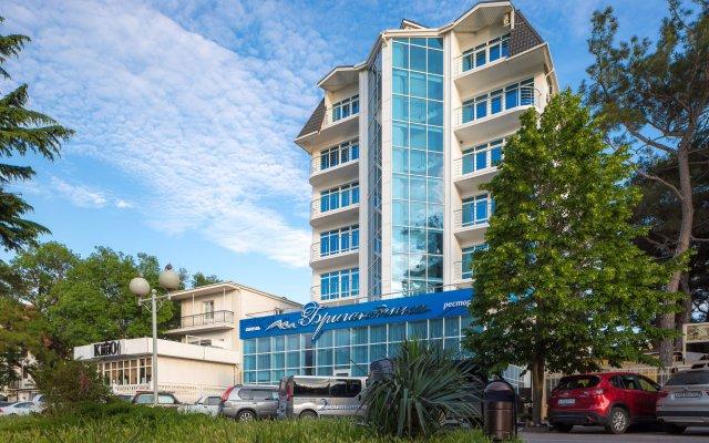 Гостиница Бригантина вид на фасад