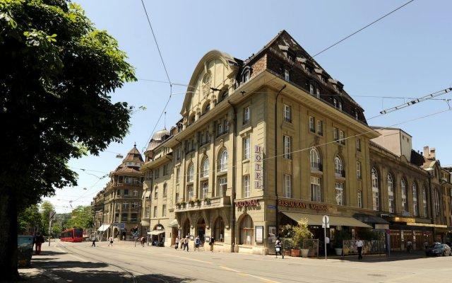 Hotel National Bern вид на фасад