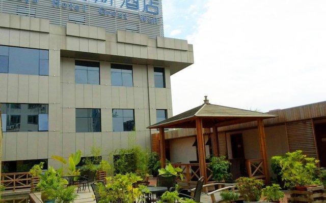 Days Hotel Great Wall Quanzhou вид на фасад