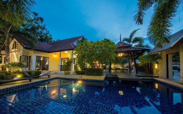Отель Villas In Pattaya Green Residence Jomtien Beach Паттайя вид на фасад