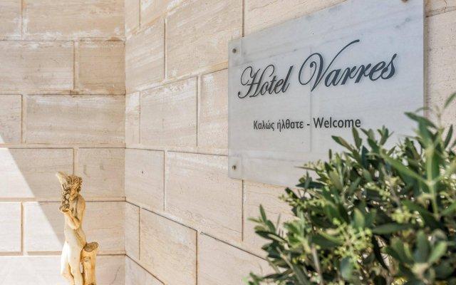 Отель VARRES Лимни-Кери вид на фасад