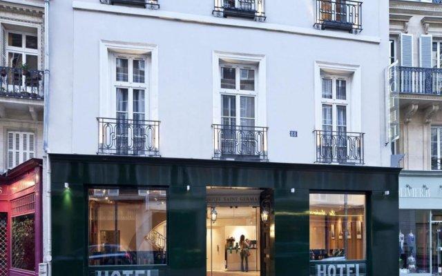 Отель Hôtel Lenox Saint Germain вид на фасад