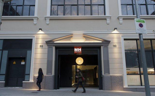 Отель MH Apartments Barcelona Испания, Барселона - отзывы, цены и фото номеров - забронировать отель MH Apartments Barcelona онлайн вид на фасад