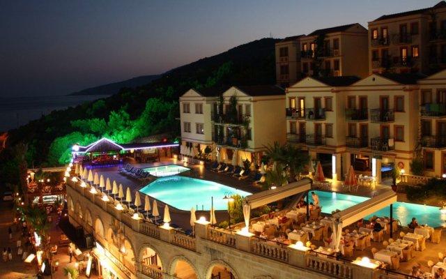 Pirat Турция, Калкан - отзывы, цены и фото номеров - забронировать отель Pirat онлайн вид на фасад