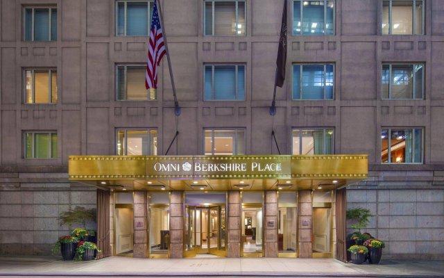 Отель Omni Berkshire Place США, Нью-Йорк - отзывы, цены и фото номеров - забронировать отель Omni Berkshire Place онлайн вид на фасад