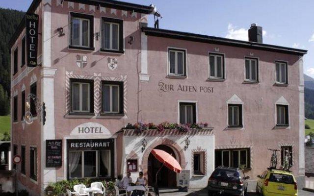Hotel Alte Post вид на фасад