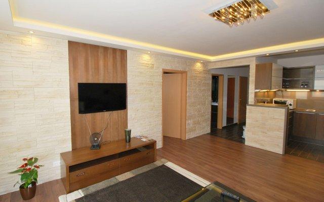 Апартаменты Arpad Bridge Apartments Budapest комната для гостей