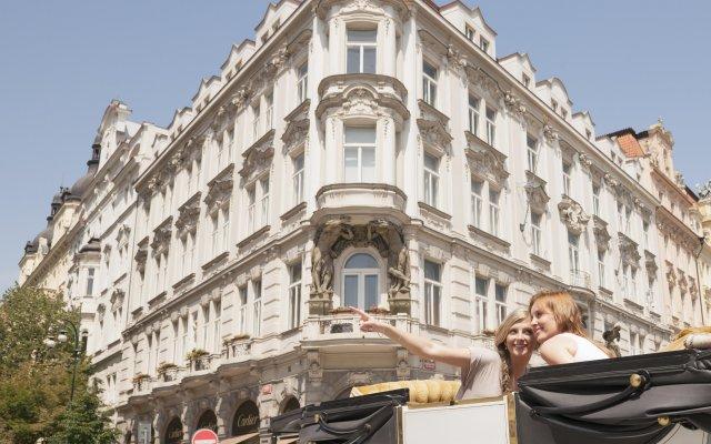 Hotel Don Giovanni Prague вид на фасад