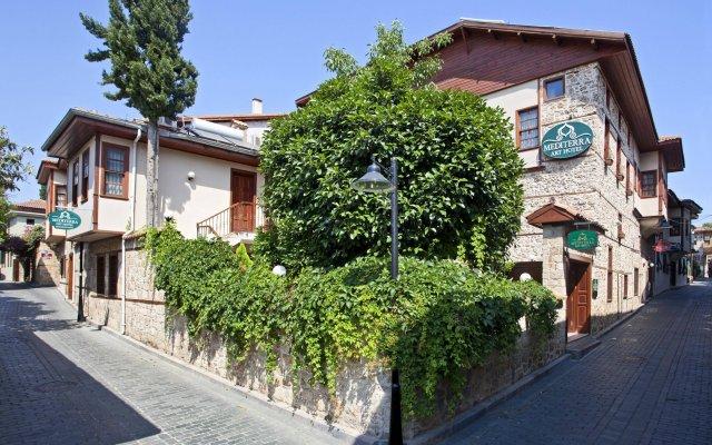 Mediterra Art Hotel Турция, Анталья - 4 отзыва об отеле, цены и фото номеров - забронировать отель Mediterra Art Hotel онлайн вид на фасад