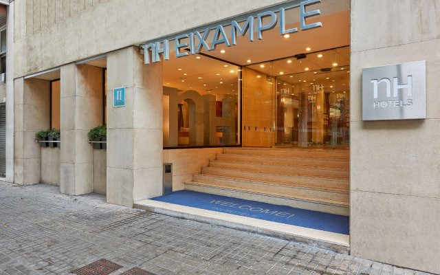 Отель NH Barcelona Eixample Испания, Барселона - отзывы, цены и фото номеров - забронировать отель NH Barcelona Eixample онлайн вид на фасад