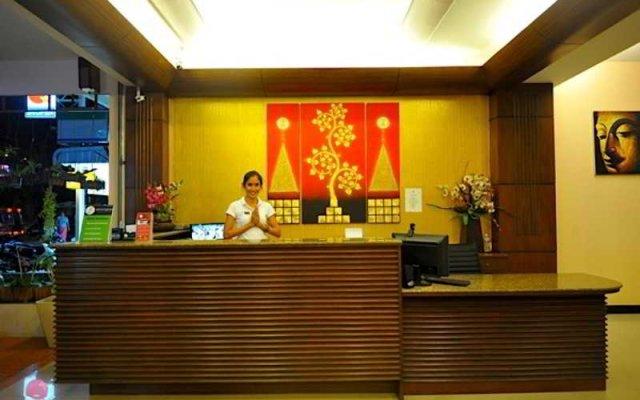Lemongrass Hotel интерьер отеля