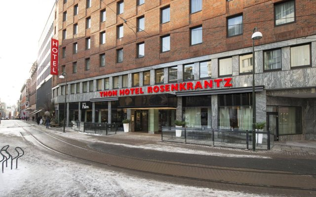 Thon Rosenkrantz Oslo (ex. Thon Hotel Stefan) Осло вид на фасад