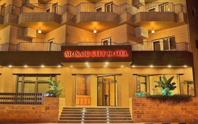 Отель Mosaic City Hotel Иордания, Мадаба - отзывы, цены и фото номеров - забронировать отель Mosaic City Hotel онлайн вид на фасад