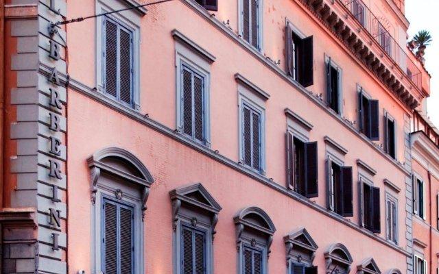 Отель BARBERINI Рим вид на фасад
