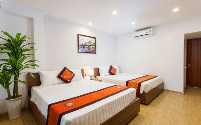 Do Hotel Ханой комната для гостей