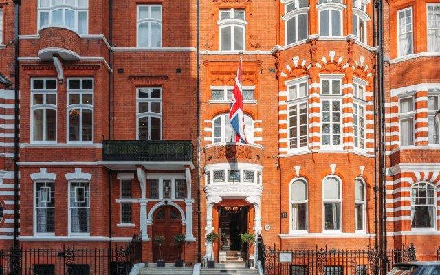 Отель 11 Cadogan Gardens вид на фасад