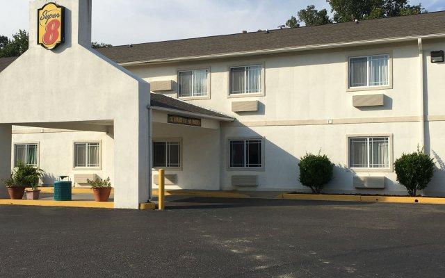 Отель Super 8 by Wyndham Vicksburg вид на фасад
