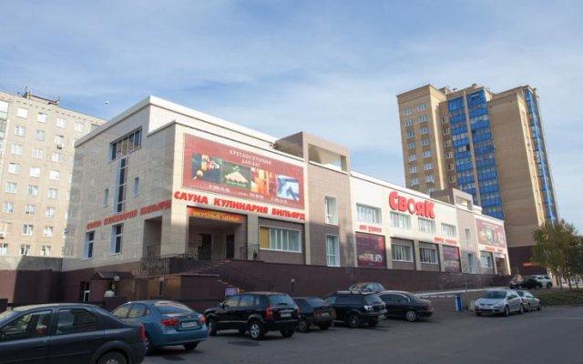 Отель Свояк Уфа вид на фасад