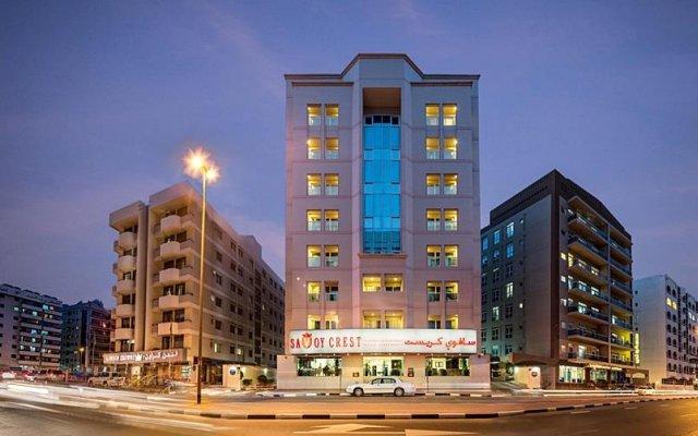 Апартаменты Savoy Crest Apartments Дубай вид на фасад