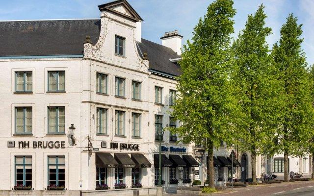 Отель Nh Brugge Брюгге вид на фасад