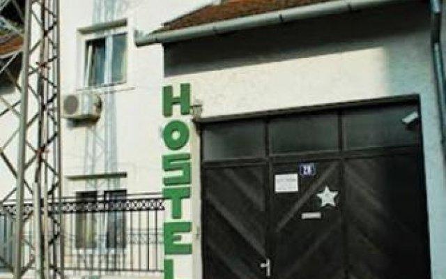 Hostel Podbara Нови Сад вид на фасад